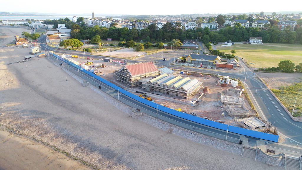 Sideshore construction progresses